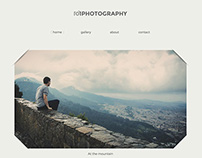 [FREE] 101Photography - Sketch & PSD Portfolio Theme