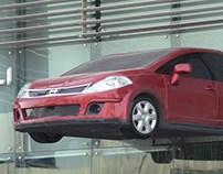 NISSAN TIIDA - CAR SHOWROOM DISPLAY
