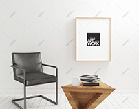 Poster Frame Mockup Minimalist