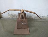 Kinetic sculpture-Flocking