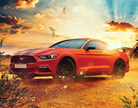 Mustang Retouch