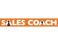 SALES COACH -Illustration & logo design