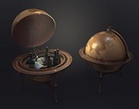 Private Eye Escape - Globe bar