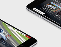 Asphalt 8 UI/UX Design Concept
