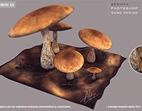 mushroom 3d