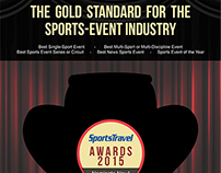 Sports Travel Magazine AD - Sports Travel Awards