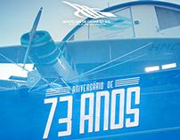 Flyer Aeroclube de Caxias do Sul - 73 Anos