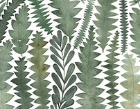 Banksia Leaves Tea Towel Home Beautiful Magazine