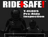 RIDE+SAFE!™ Mobile Web Application | UX/UI