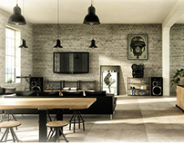 Interior design / industrial