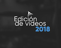 Edición de videos 2018