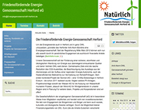 Energiegenossenschaft Herford - website design