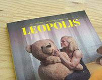 Leopolis magazine, logo redesign