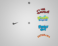Nike Basketball Sneakers x Animated TV Series