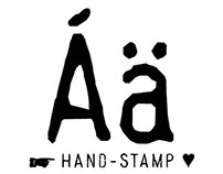 TYPOGRAPHY | Font – Hand Stamp Gothic Rough