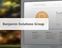 Benjamin Solutions Group Identity Redesign