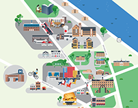 Rutgers University maps
