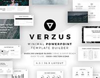 Verzus Minimal PowerPoint Template Builder