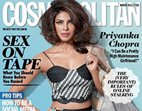 PC for Cosmopolitan India, March 2015.