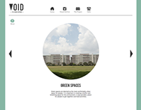 Void; The Spaces Between (Website)