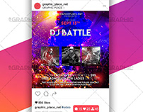 Dj Battle Night – Animated Flyer PSD Template
