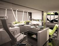 Ultra Modern Interior Office