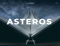 ASTEROS. Corporate website