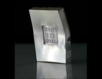 Commemorative silver medal Kursk - 1943