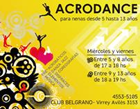 Flyer: Gimnasia Artística