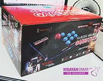 PACKAGING - CLASSIC ARCADE GAMESTICK / GAMEPAD/JOYSTICK