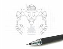 Techroid Mascot