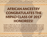 Graphic Design - AfricanAncestry.com