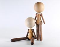 wooden doll at 2011 autumn