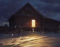 Village house   Домик в деревне :)