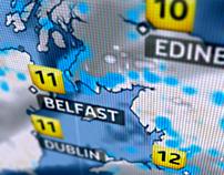 Sky News Weather GFX Montage
