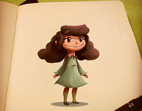 Lil Girl Concept - Child's Book
