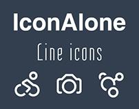 IconAlone line icons