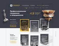 Technocom Website