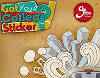 Gloo Stickers Branding