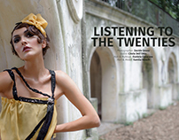 Editorial Listening to the twenties for Avari Magazine