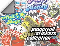 Powerfull stickers collection Jado