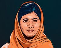 """Malala Yousafzai"" for Planet Labs"