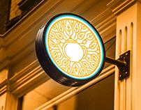 Karak & Crepe logo design and branding