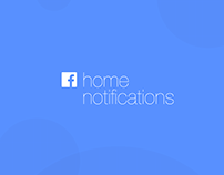 Facebook Home Notifications