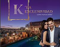 K Tower - Publicidad