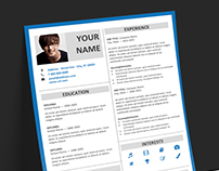 Fitzroy - FREE Resume template