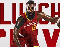 Houston Rockets Alternate Jersey Concept