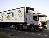 BAMA Storkjøkken delivery truck