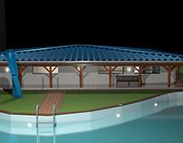 Villa Martiniquaise - Modélisation 3D