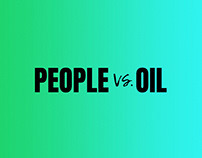 Greenpeace: People vs. Oil Brand Identity
